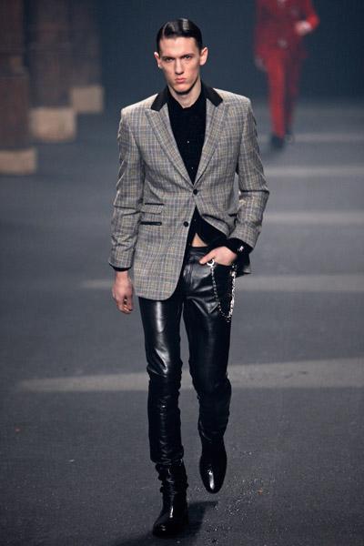 Thierry Mugler Catwalk Fashion Show Menswear Fw09 Team