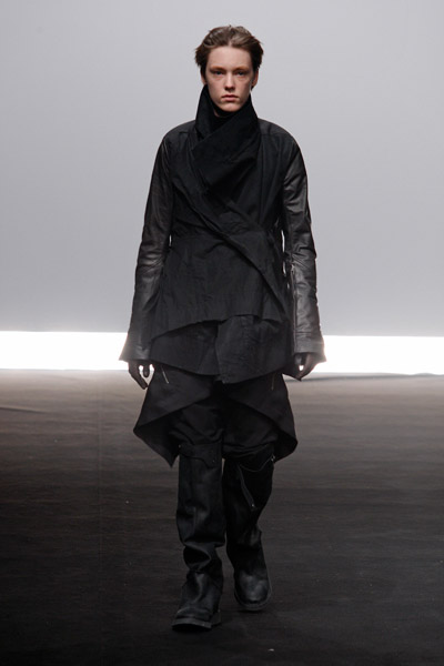 Rick Owens Catwalk Fashion Show Menswear FW09