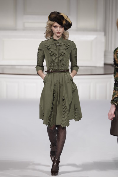 Trend Report Fw2010 Military Style Team Peter Stigter Catwalk Show Streetwear And Fashion
