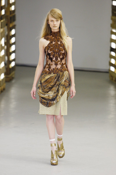 Rodarte Catwalk Fashion Show New York Ss2011 Team Peter