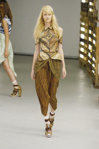 Rodarte Catwalk Fashion Show New York Ss2011 Team Peter