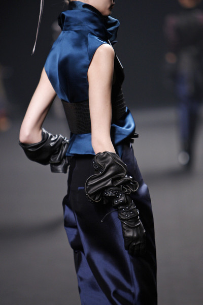 2011 Fashion Trend Reports on Trend Report Fw2011  Simmering Sapphire   Team Peter Stigter  Catwalk