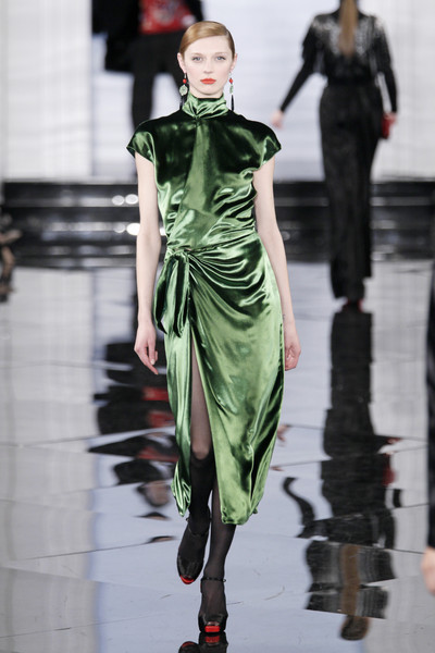2011 Fashion Trend Reports on Trend Report Fw2011  Emerald Inspired   Team Peter Stigter  Catwalk