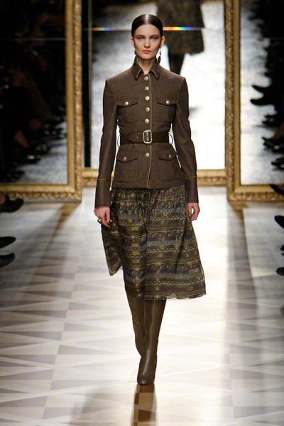 Salvatore Ferragamo Catwalk Fashion Show Milan Womenswear Fw2012 Team Peter Stigter Catwalk
