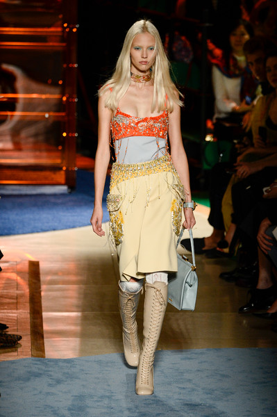Miu Miu Catwalk Fashion Show Paris Womenswear SS2014 ...