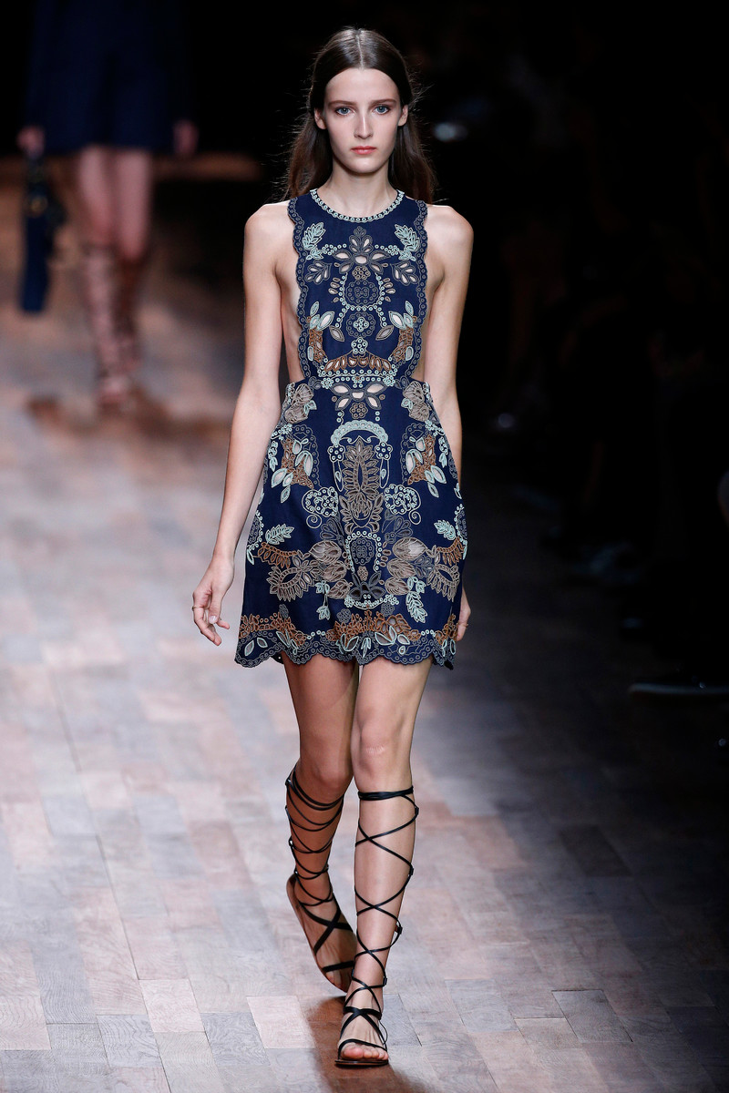 Valentino Catwalk Fashion Show Paris Womenswear SS2015