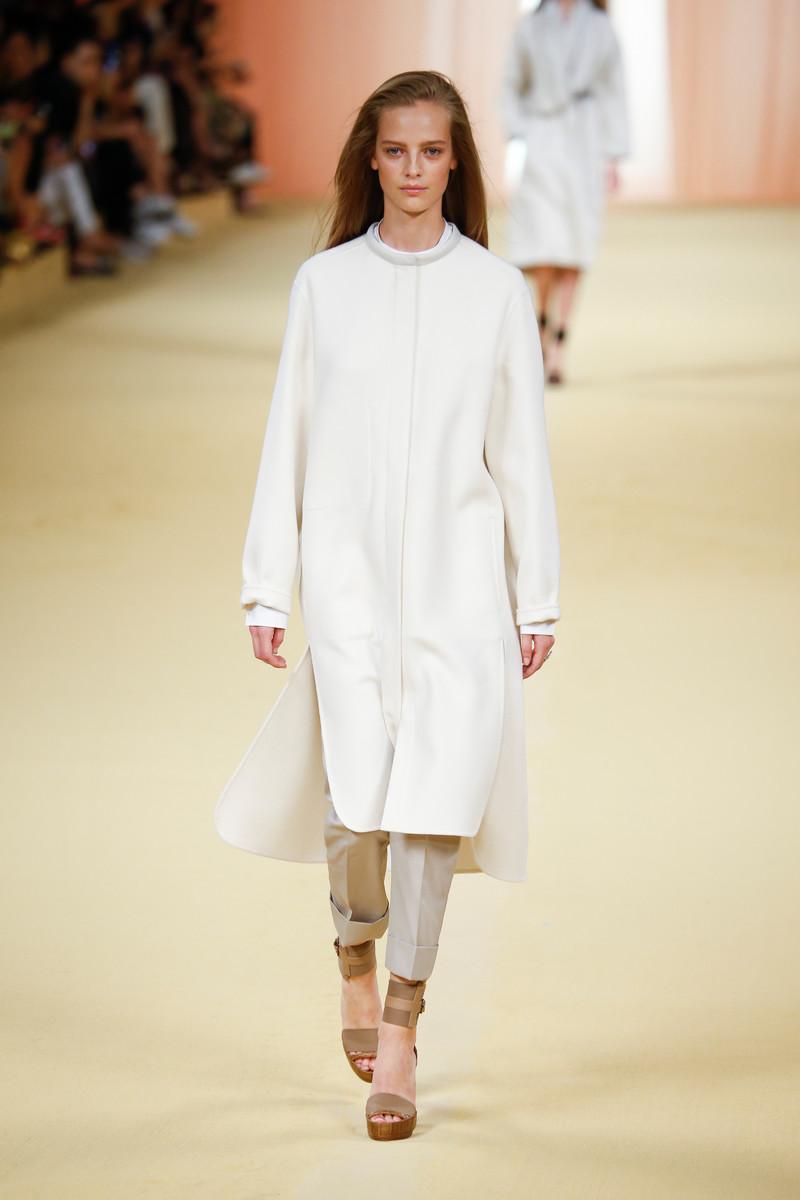 Hermes Catwalk Fashion Show Paris Womenswear SS2015