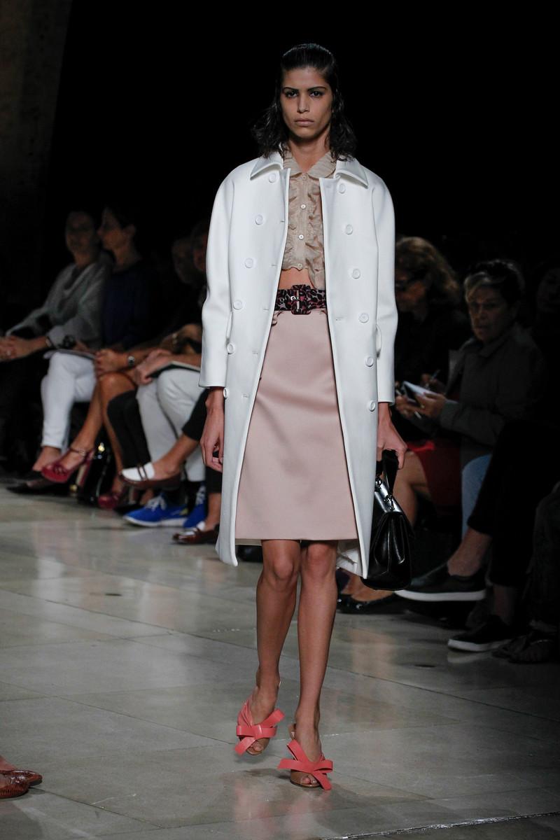 Miu Miu Catwalk Fashion Show Paris Womenswear SS2015