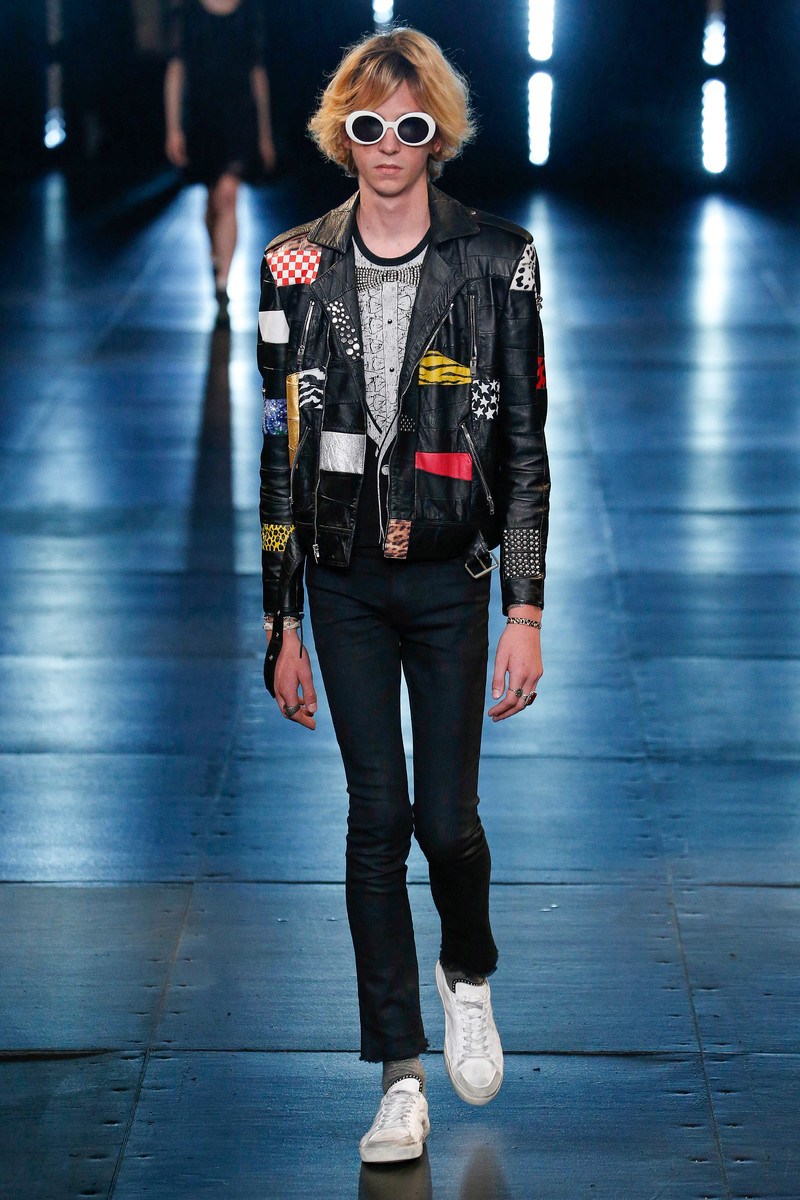 Saint Laurent Menswear Catwalk Fashion Show Paris SS2016
