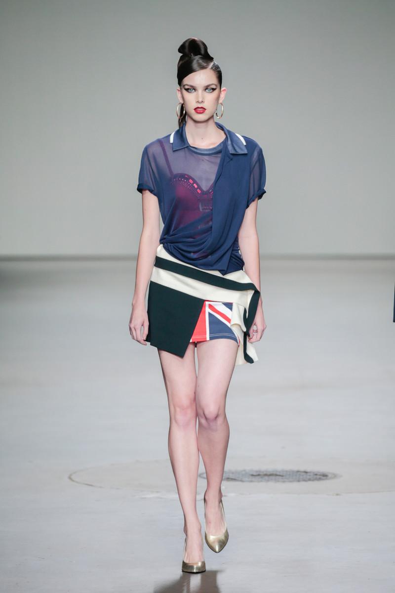 Aziz Bekkaoui Mercedes-Benz FashionWeek Amsterdam
