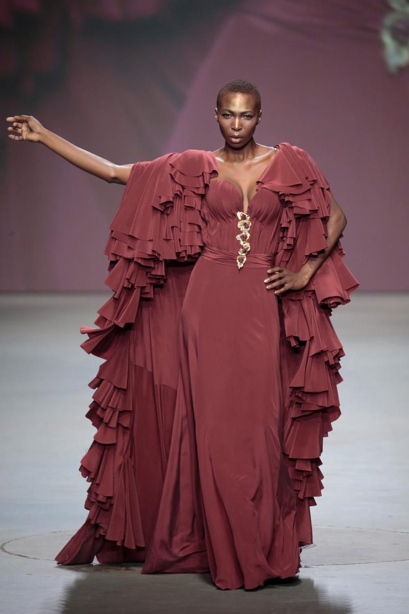 Monique Collignon Mercedes-Benz FashionWeek Amsterdam