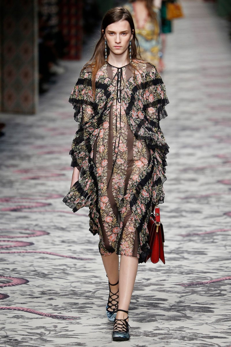 Gucci Fashion Show Milan Womenswear SS2016