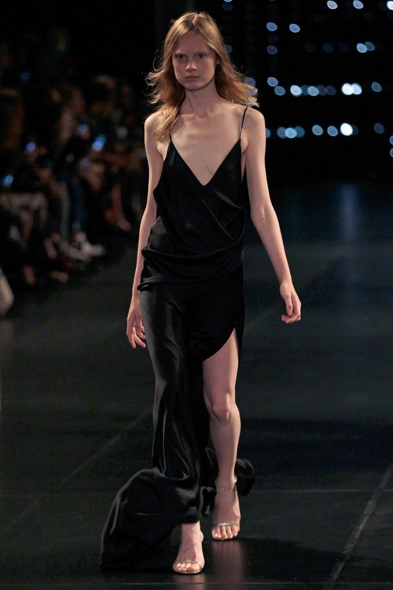 Saint Laurent Paris Catwalk Fashion Show Womenswear Spring 2016 ...