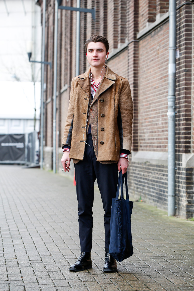 Amsterdam Fashion Week Fall 2016 Streetfashion Day 2 Team Peter Stigter Catwalk Show