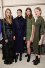 NIKKIE PLESSEN CATWALK FASHION SHOW BACKSTAGE FW16