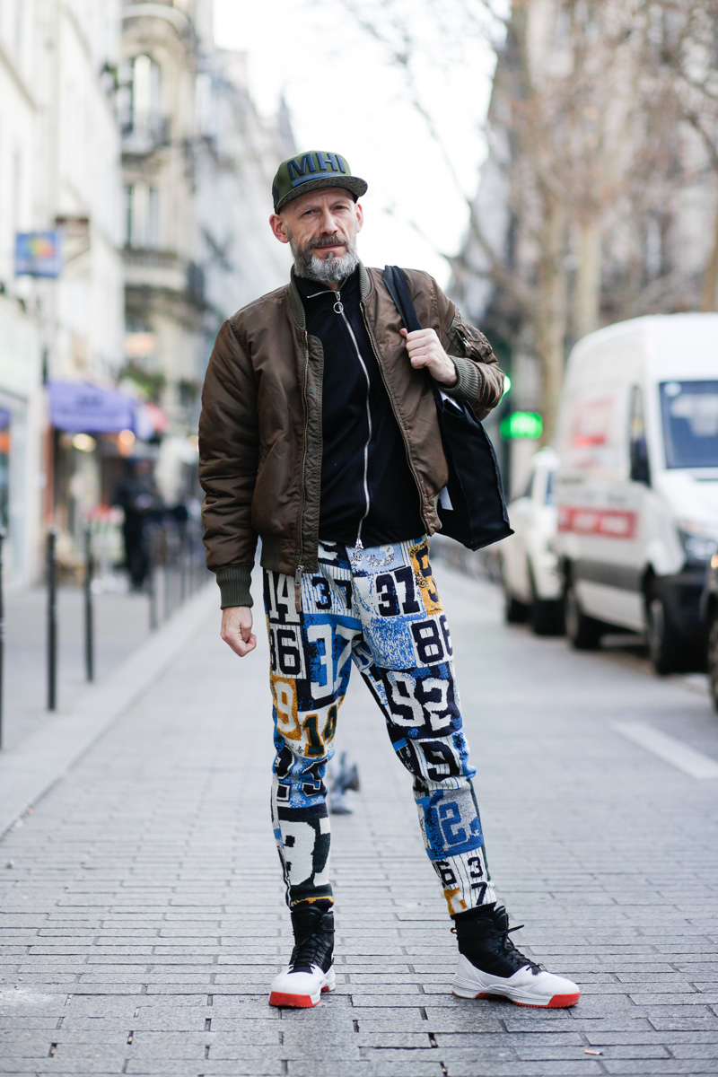 Streetfashion Paris Menswear Fw2016 Day 1 Team Peter
