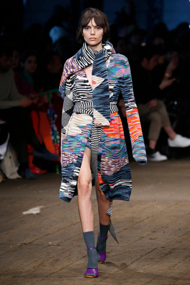 Missoni Catwalk Fashion Show Milan Womenswear FW2016 ...