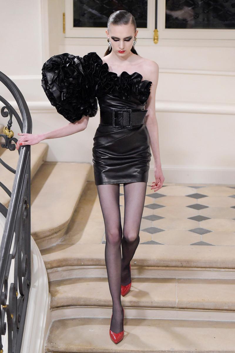Saint Laurent Paris Catwalk Fashion Show Womenswear FW2016