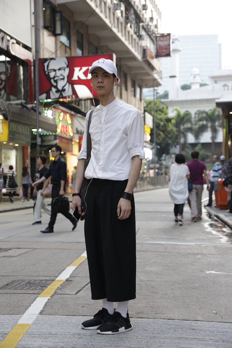 Hong Kong Street Fashion Life Team Peter Stigter