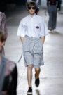 Menswear baggy pants