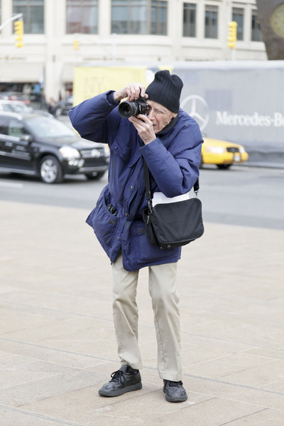 Bill Cunningham, streetfashion-photographer