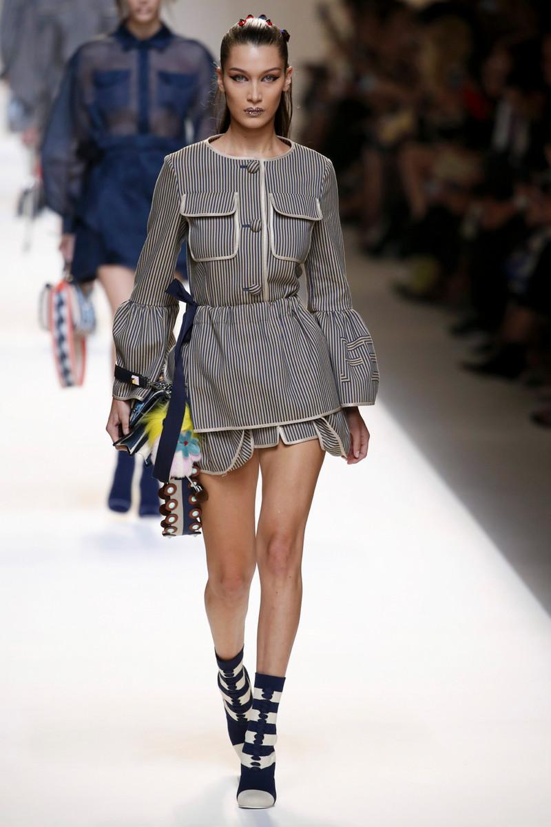 Fendi Fashion Show Womenswear Milan SS2017