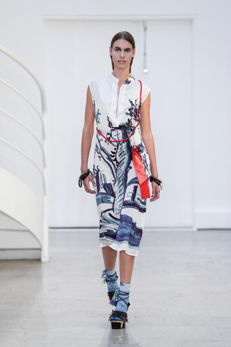 Liselore Frowijn Catwalk Fashion Show Paris SS2017