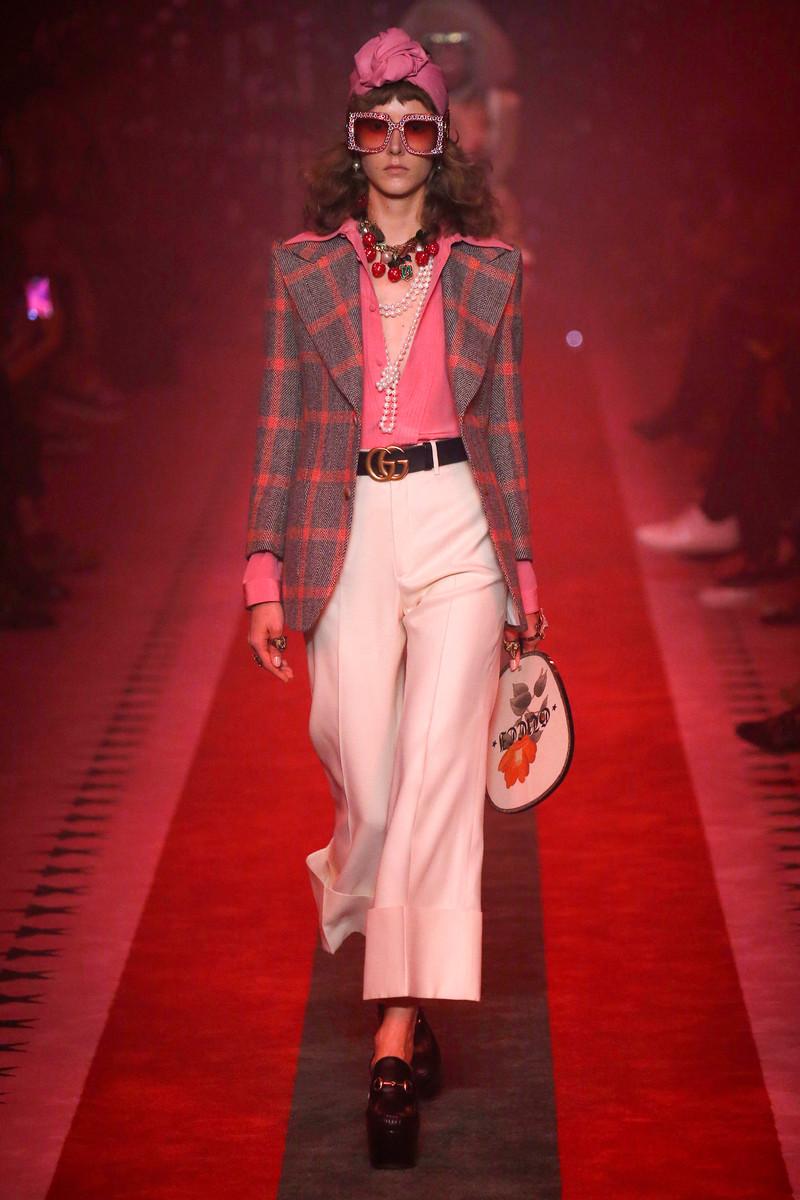 Gucci Catwalk Show Womenswear Milan SS2017