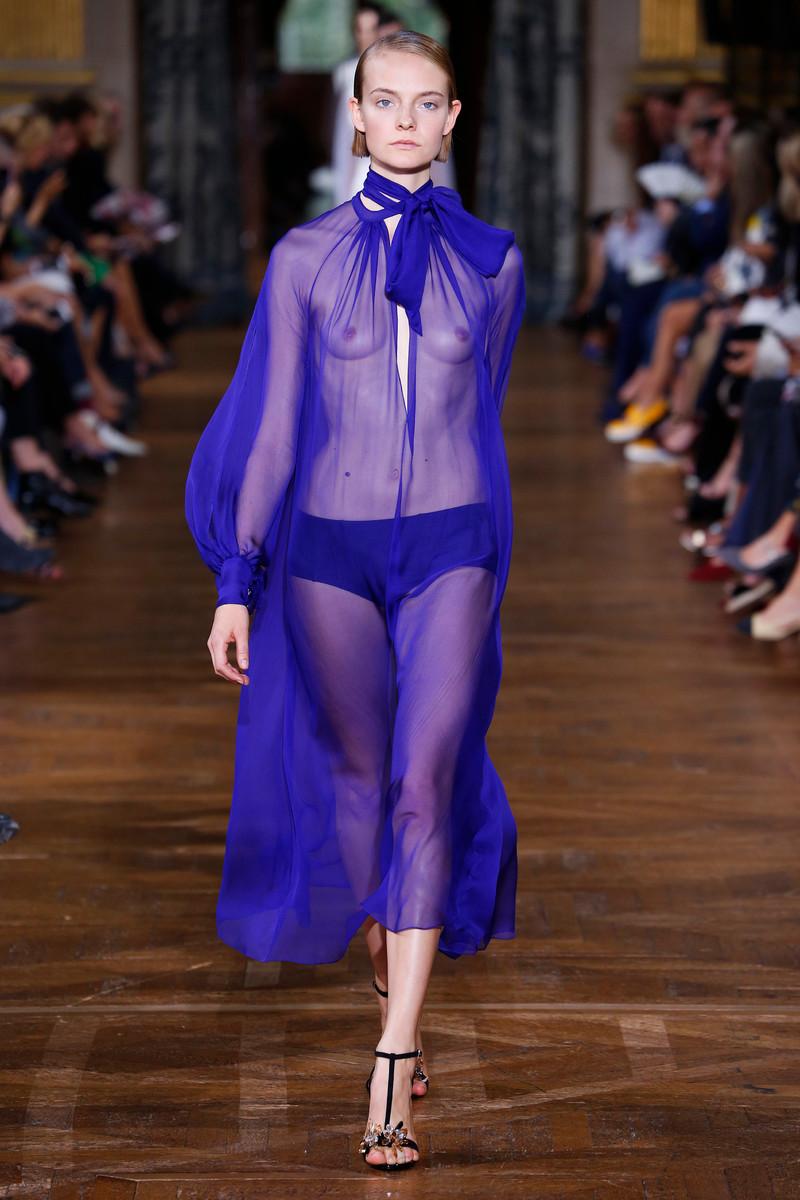 Lanvin Fashion Show Womenswear Paris SS2017