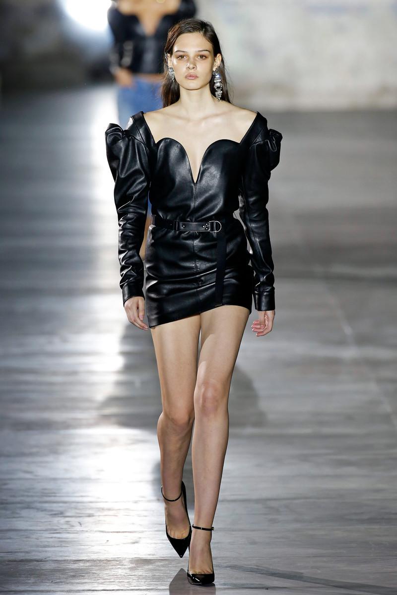 Saint Laurent Paris Fashion Show Womenswear Paris SS2017