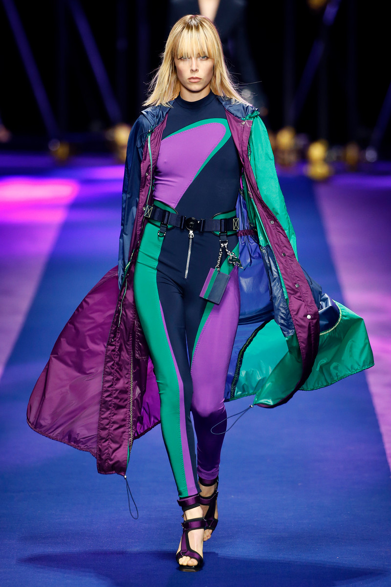 Versace Fashion Show Womenswear Milan SS2017