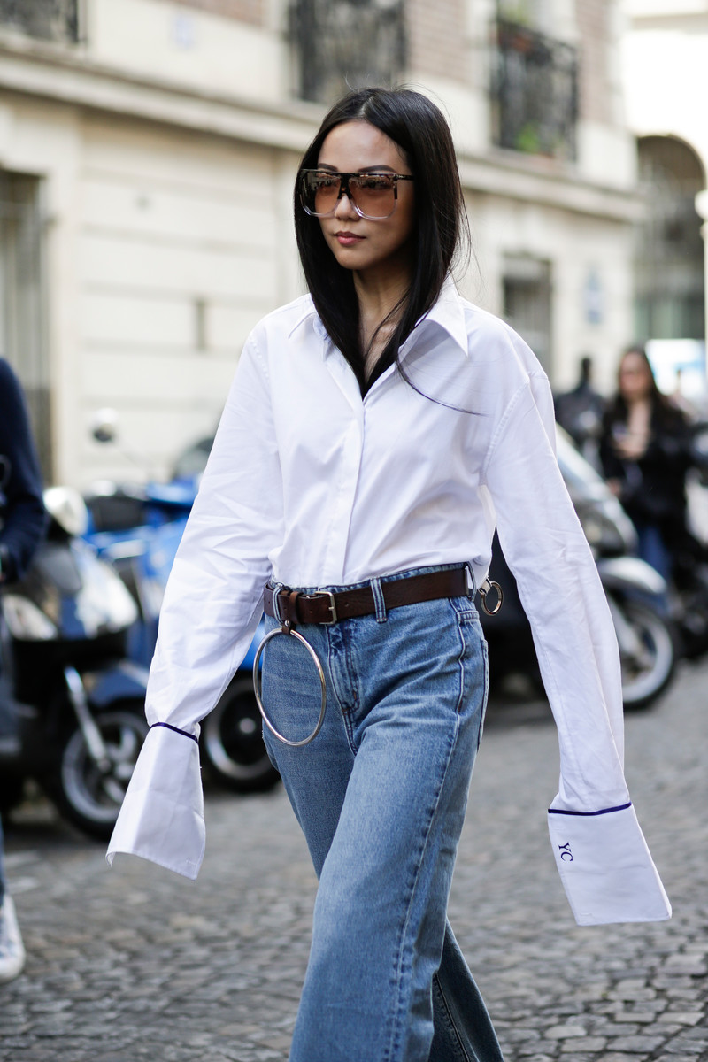 Fall Winter Trend 2016 / 2017: White Shirt Revisited