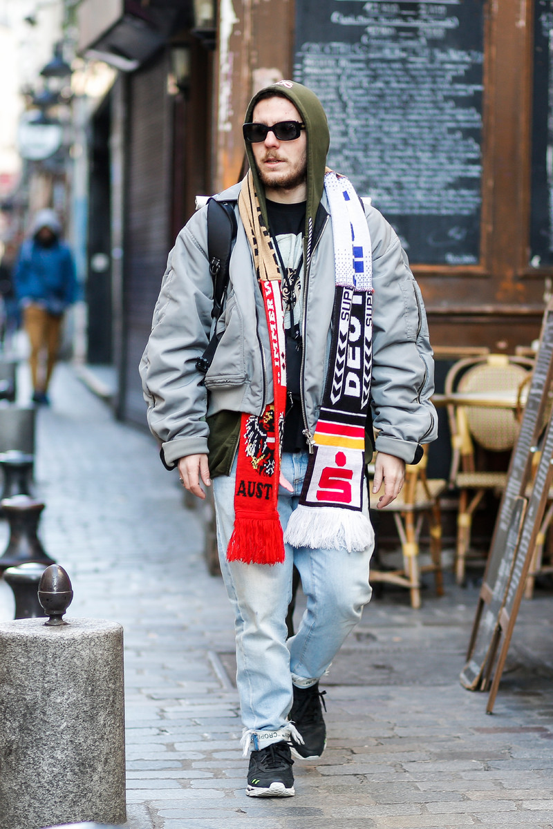 Streetfashion Menswear Paris FW2017, Day 01