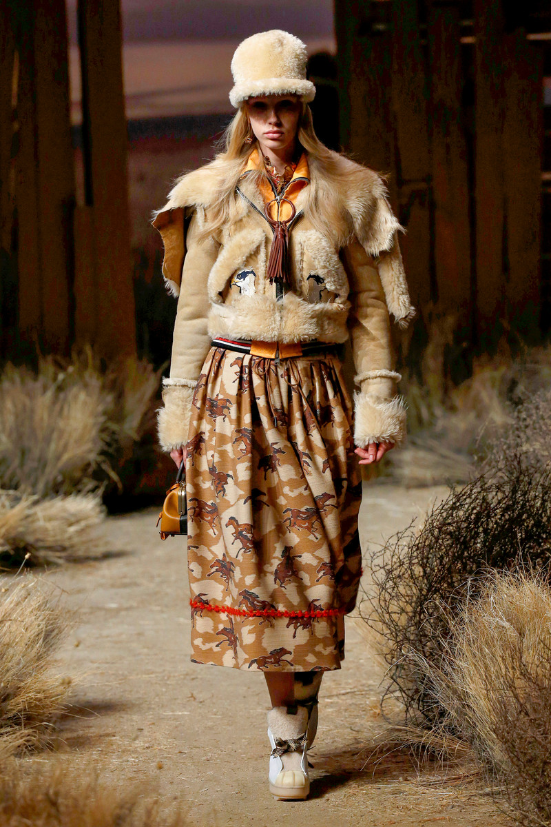 Coach Catwalk Fashion Show NYC Womenswear FW2017