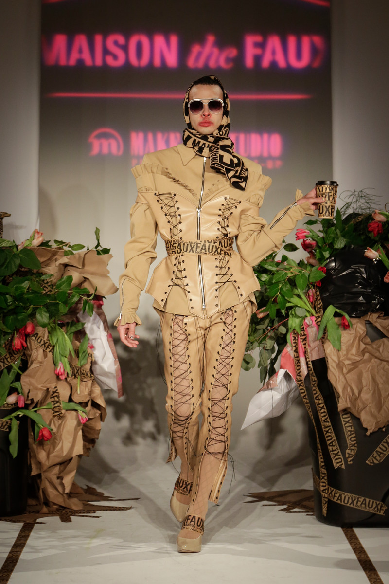 Maison the Faux Catwalk Fashion Show NYC Womenswear FW2017