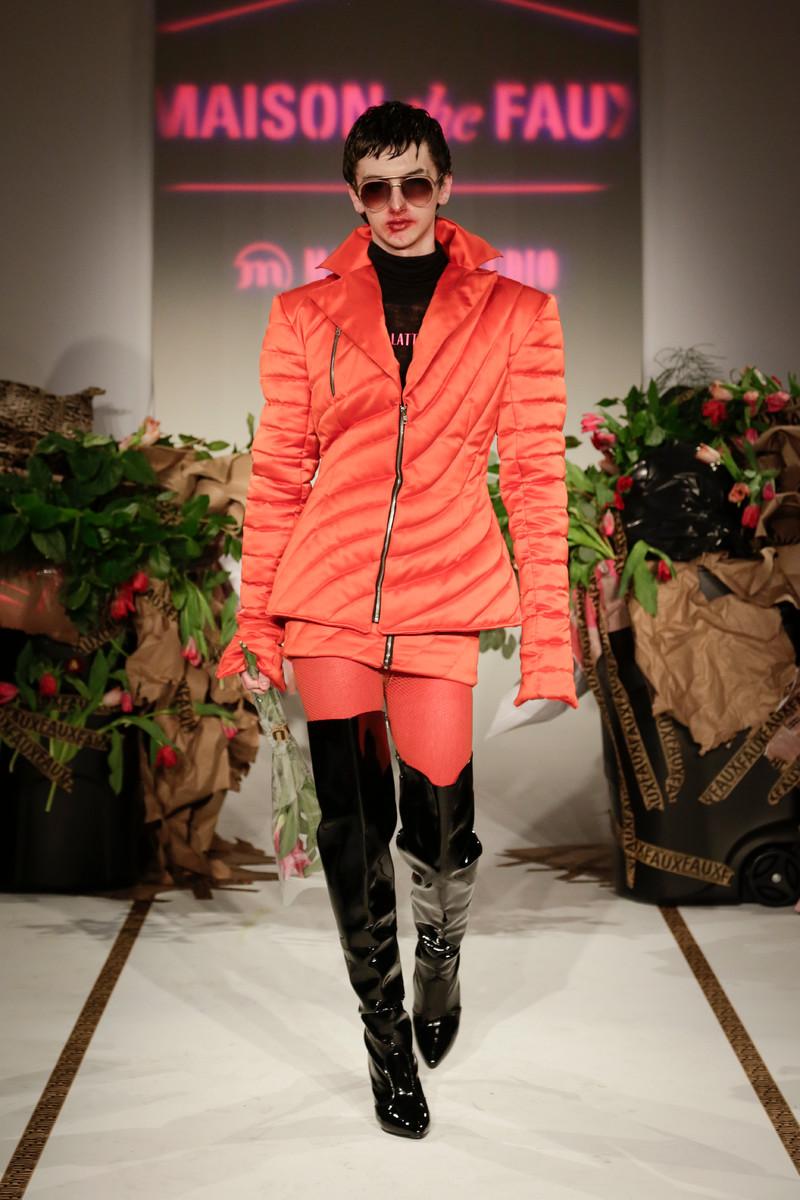 Maison the Faux Catwalk Fashion Show NYC Womenswear FW2017 | Team ...