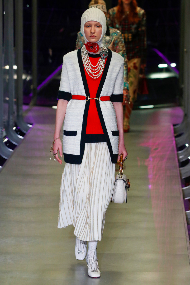 Gucci Catwalk Fashion Show Milan Womenswear FW2017