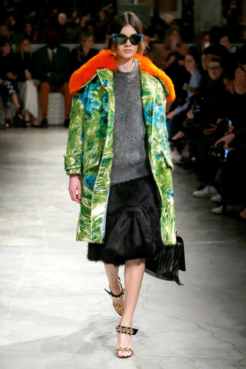 Prada Catwalk Fashion Show Milan Womenswear FW2017