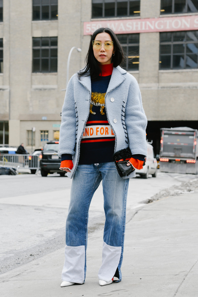 Streetfashion Womenswear FW2017 New York, Day 02
