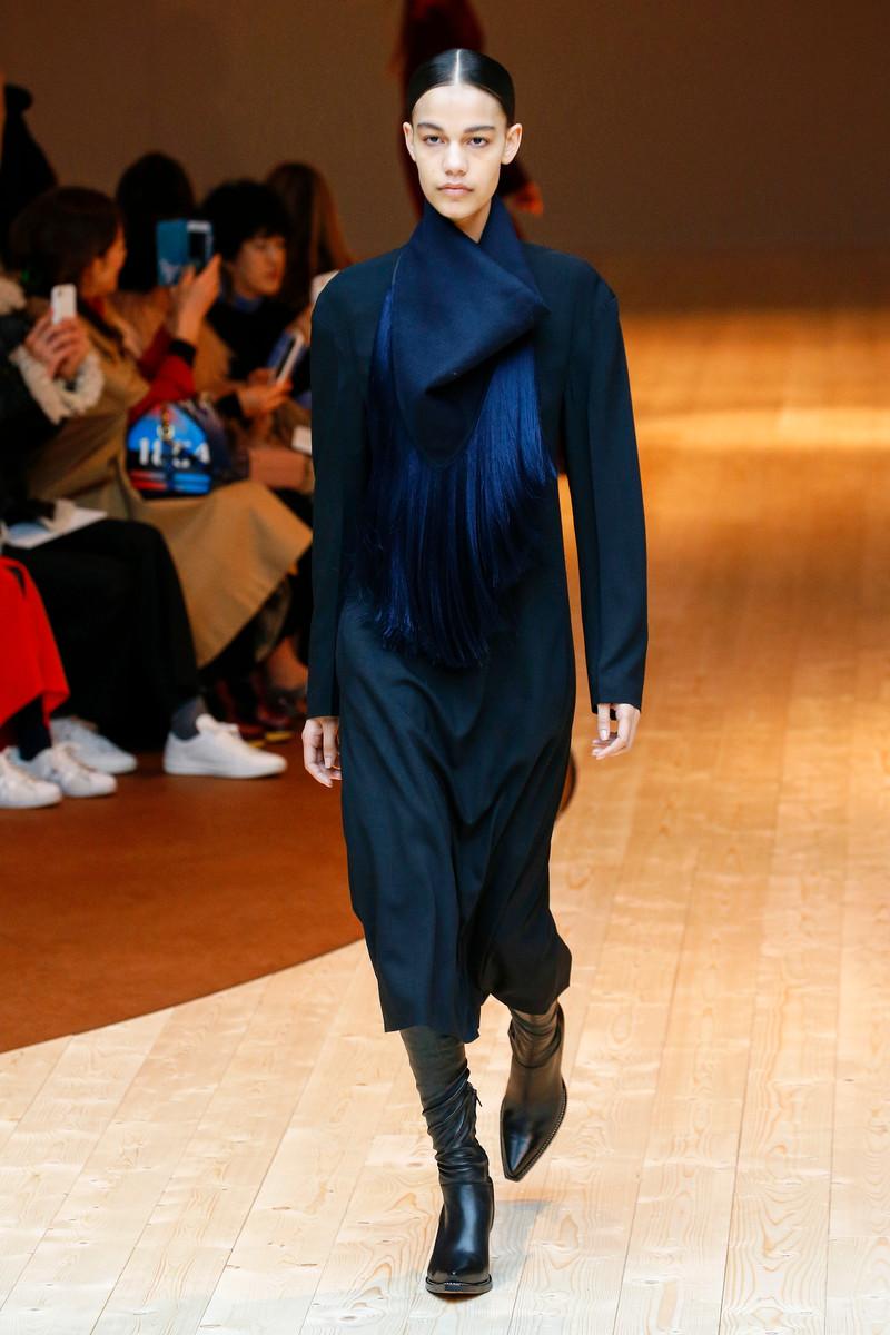 Céline Catwalk Fashion Show Paris Womenswear FW2017