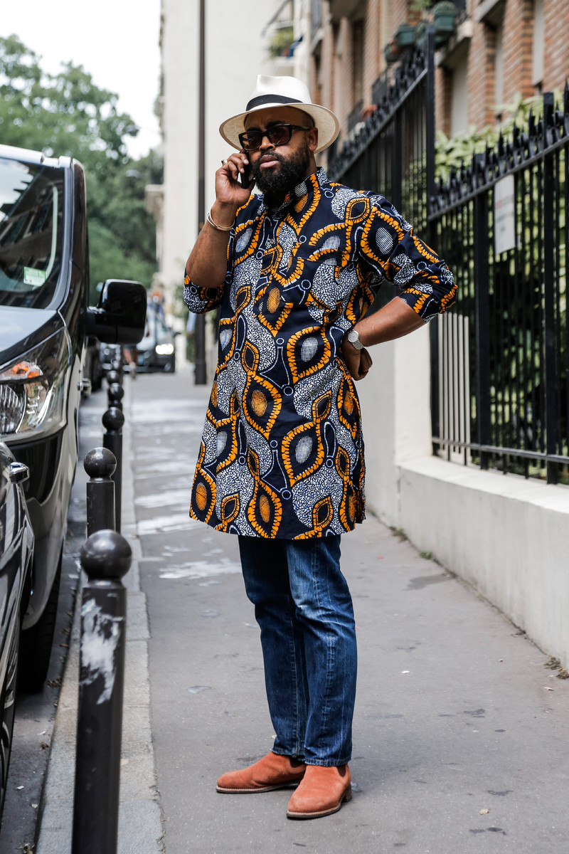Streetfashion Menswear Fashion Week Paris SS2018, Day 01