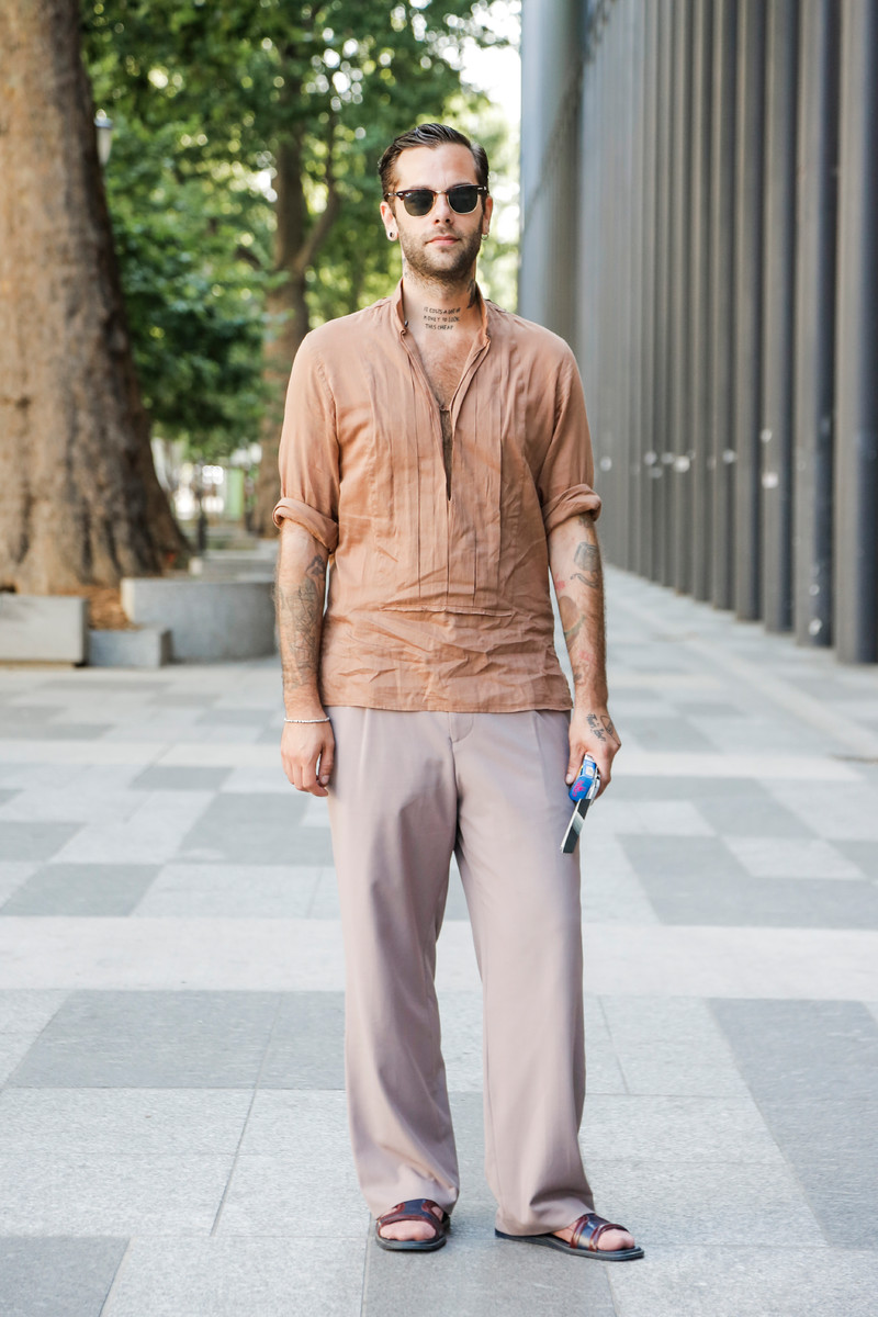 Streetfashion Menswear Fashion Week Paris SS2018, Day 02