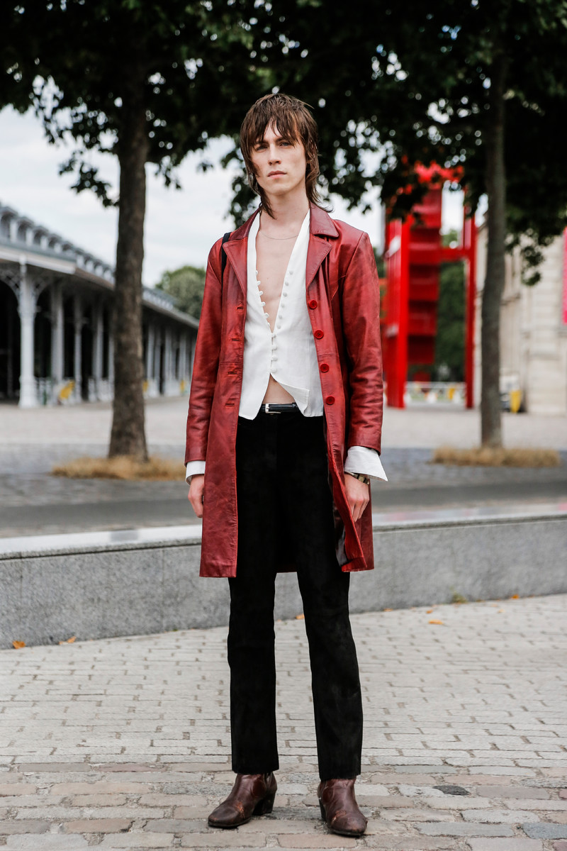 Streetfashion Menswear Fashion Week Paris SS2018, Day 04
