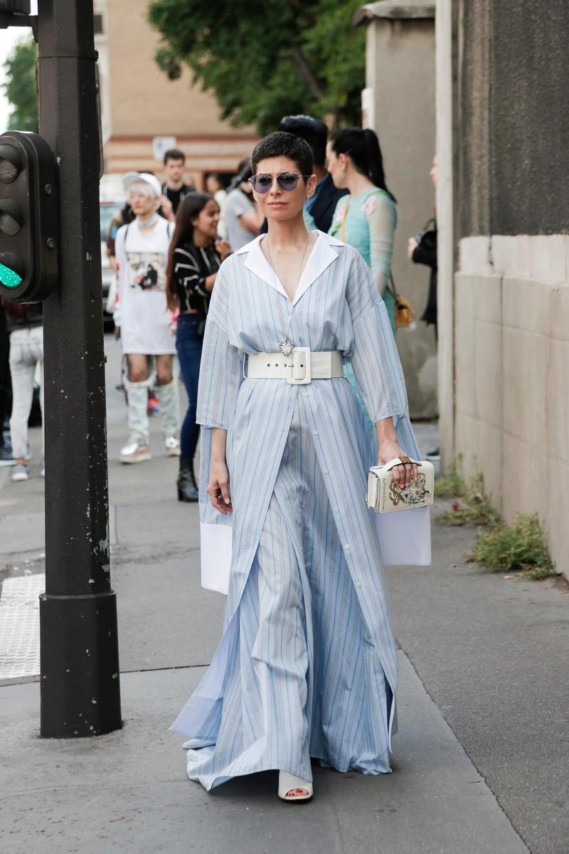 Streetfashion Haute Couture Paris FW2017, Day 01