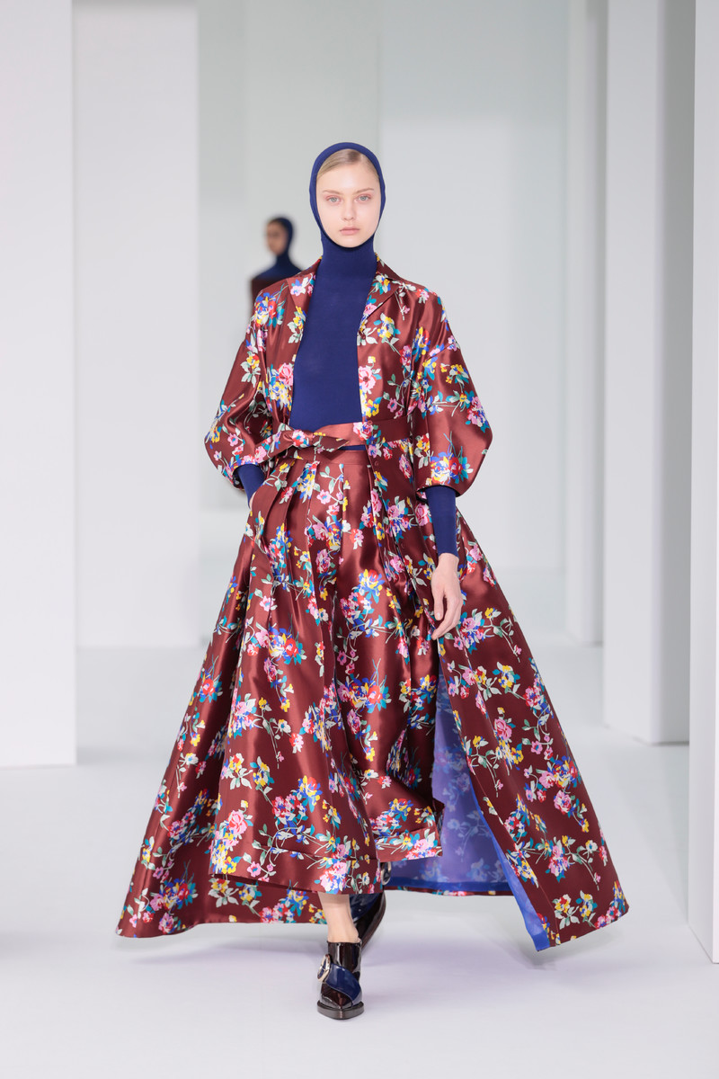 Fall/Winter Catwalk Trend 2017/2018: Winter Florals