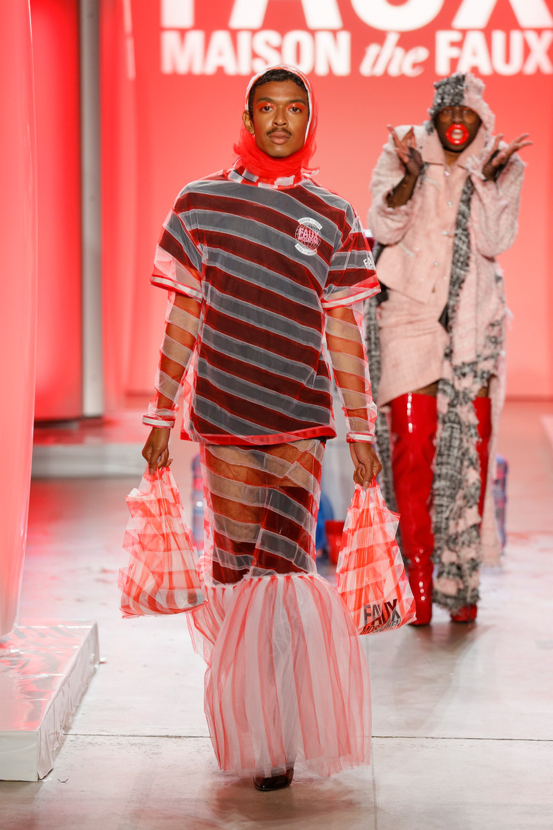 MAISON THE FAUX NEW YORK SS18 | Team Peter Stigter, catwalk ...