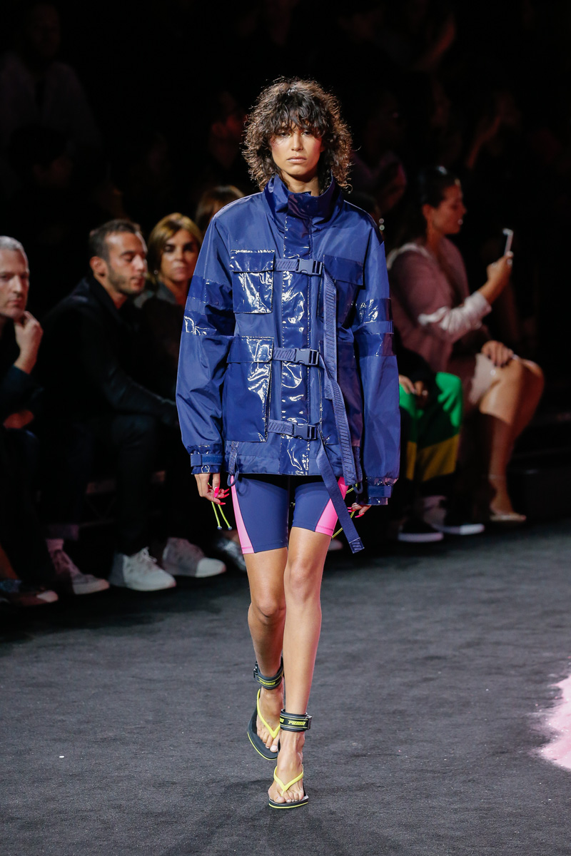 Fenty Puma by Rihanna Catwalk Fashion Show Womenswear SS2018 New York