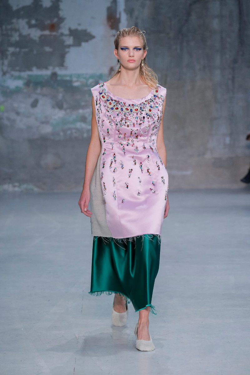 2019 year style- Milan ss marni fashion week