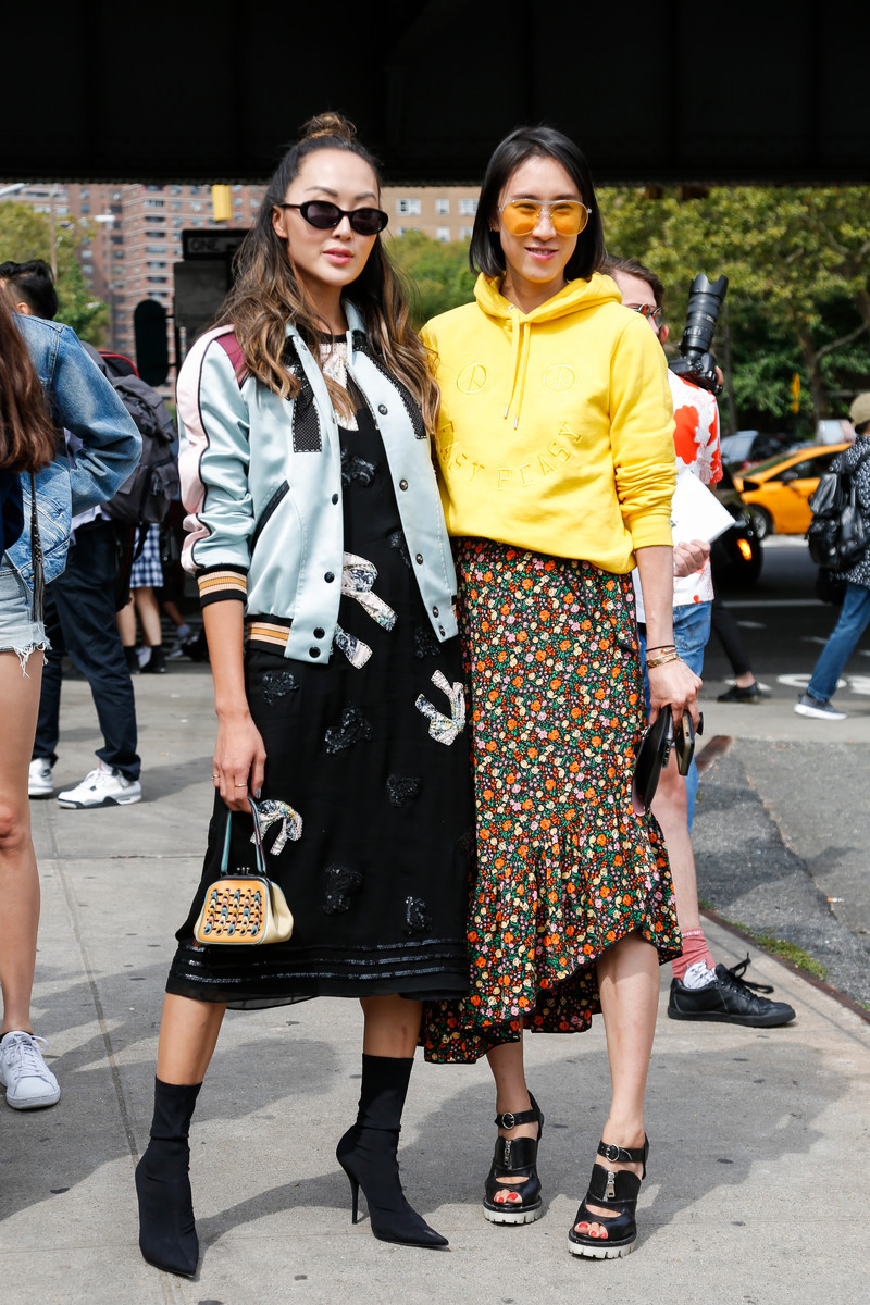 Streetfashion New York Womenswear SS2018, Day 04