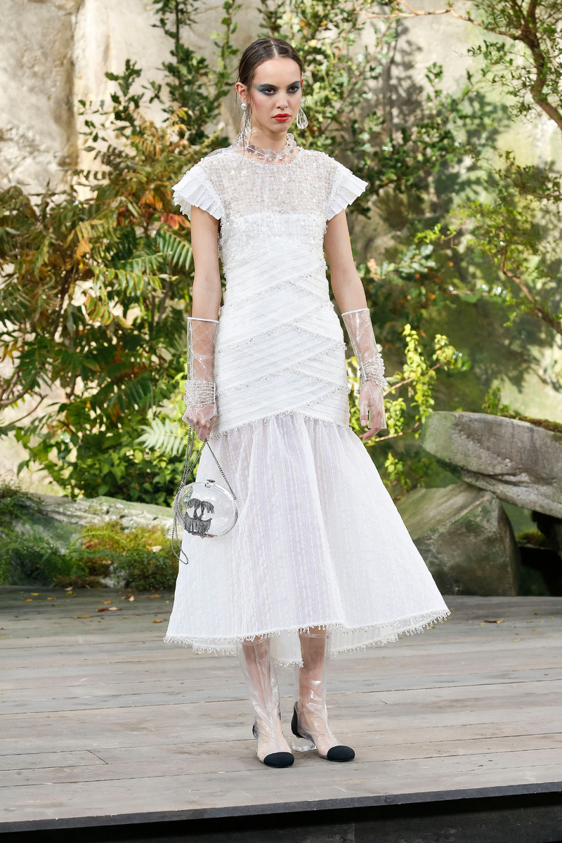 Chanel Catwalk Fashion Show Womenswear SS2018 Paris